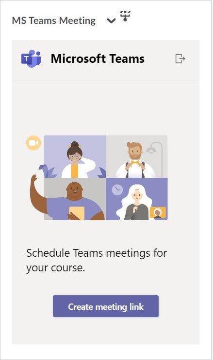 Creating Meeting Link