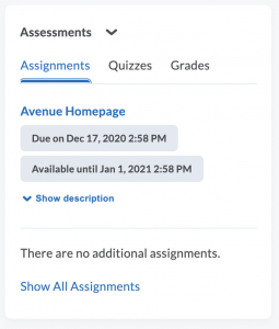 Assignments Active