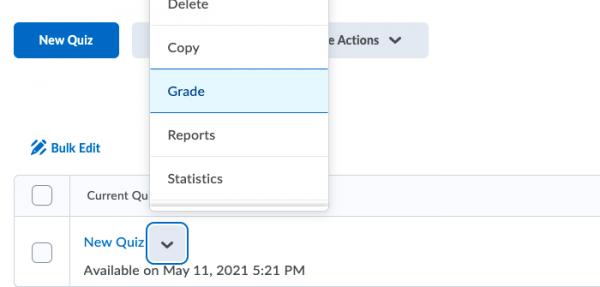 Selecting Grade